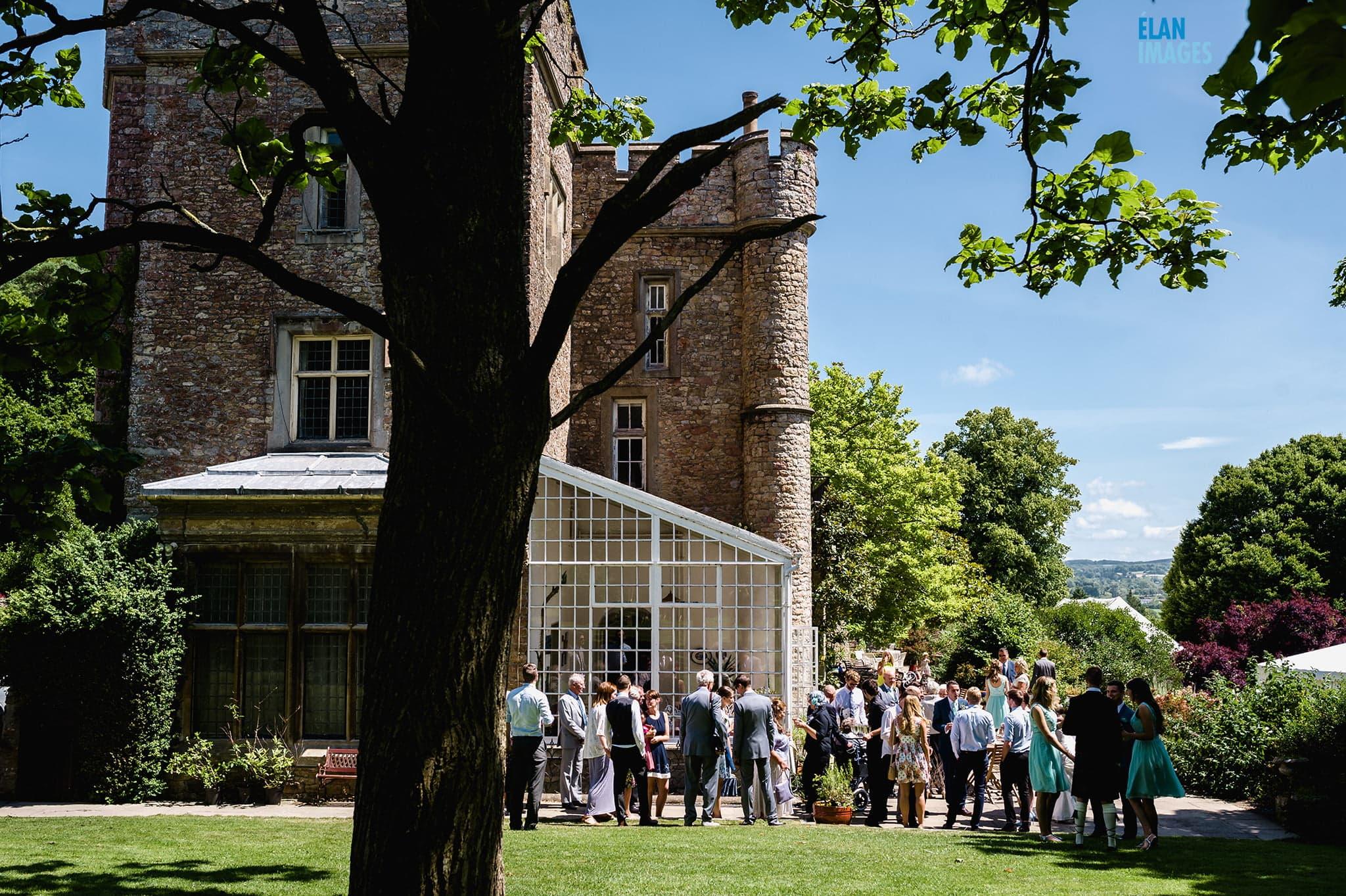 Wedding at Banwell Castle, Somerset 7