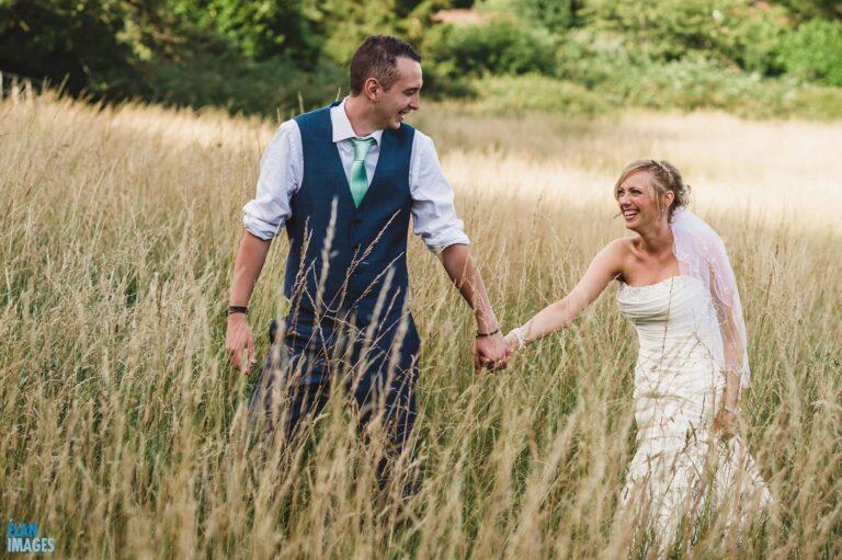 Wedding at Banwell Castle, Somerset