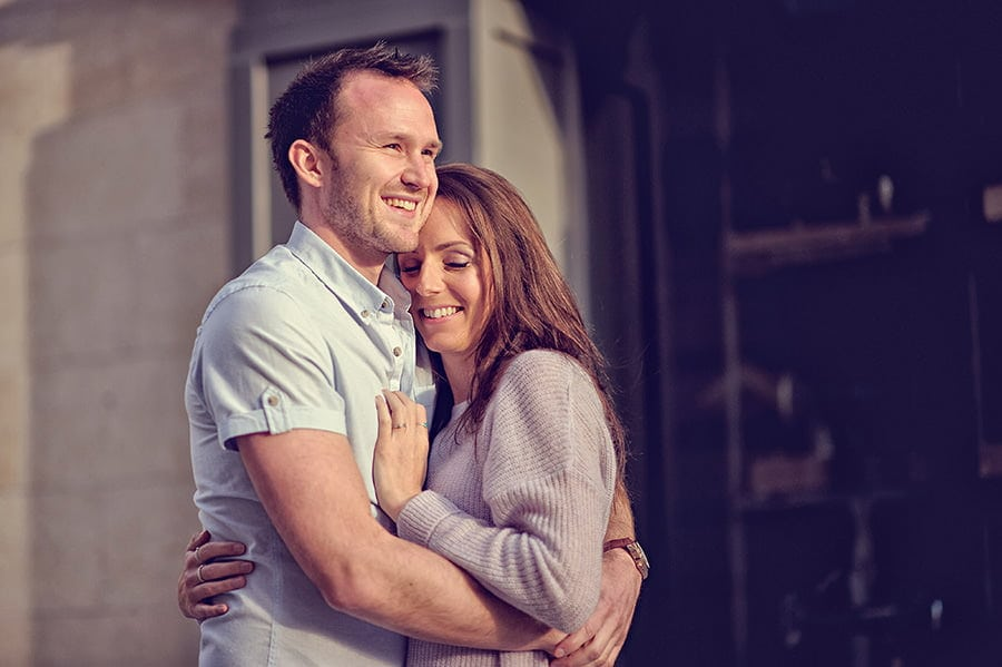 Evening Engagement Photo Shoot in the City of Bath 9