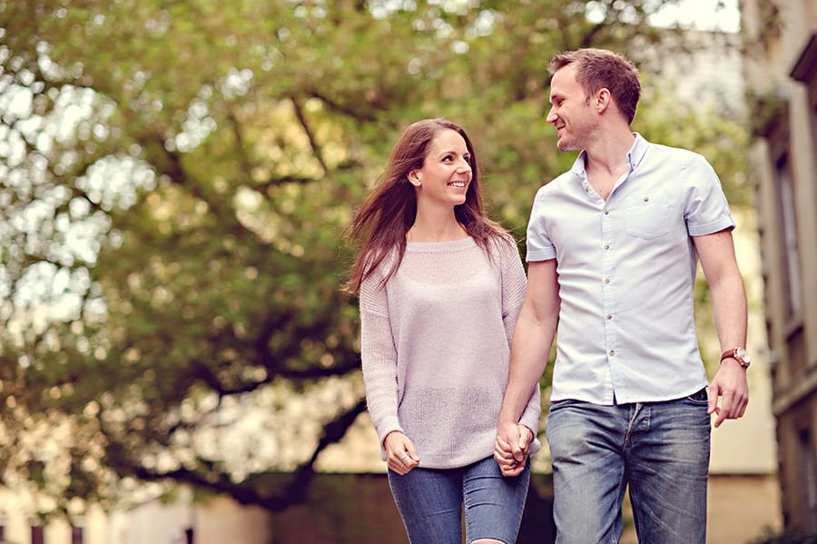 Evening Engagement Photo Shoot in the City of Bath 16