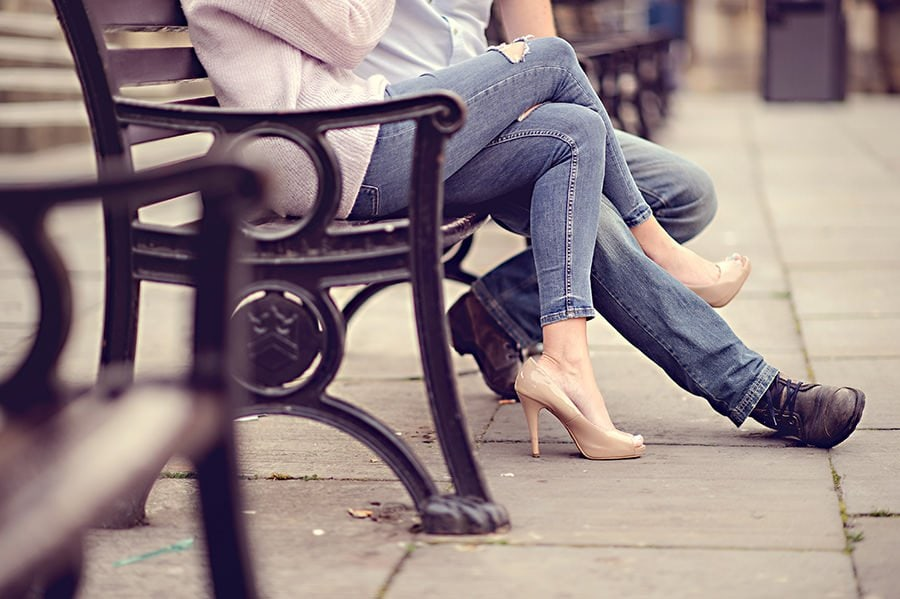 Evening Engagement Photo Shoot in the City of Bath 18