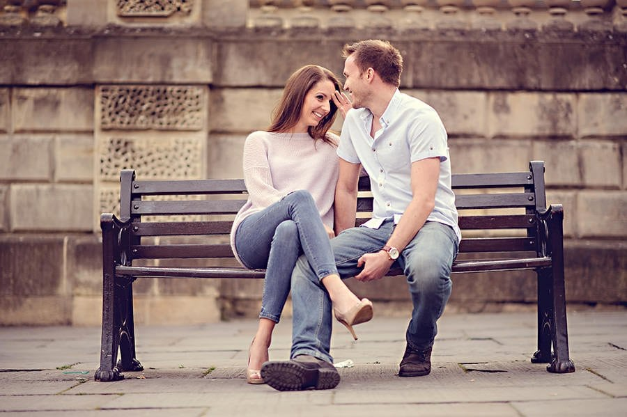 Evening Engagement Photo Shoot in the City of Bath 19