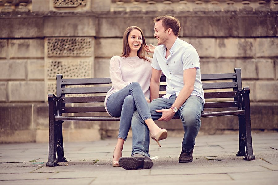 Evening Engagement Photo Shoot in the City of Bath 20