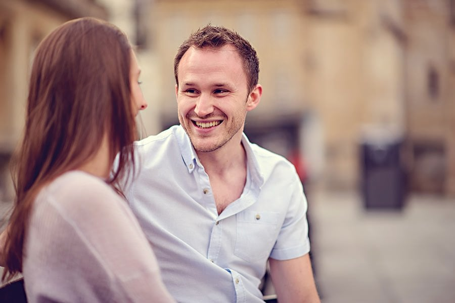Evening Engagement Photo Shoot in the City of Bath 21