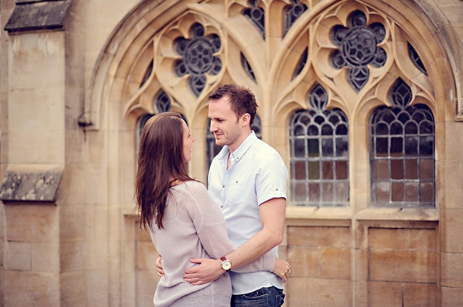 Evening Engagement Photo Shoot in the City of Bath 26