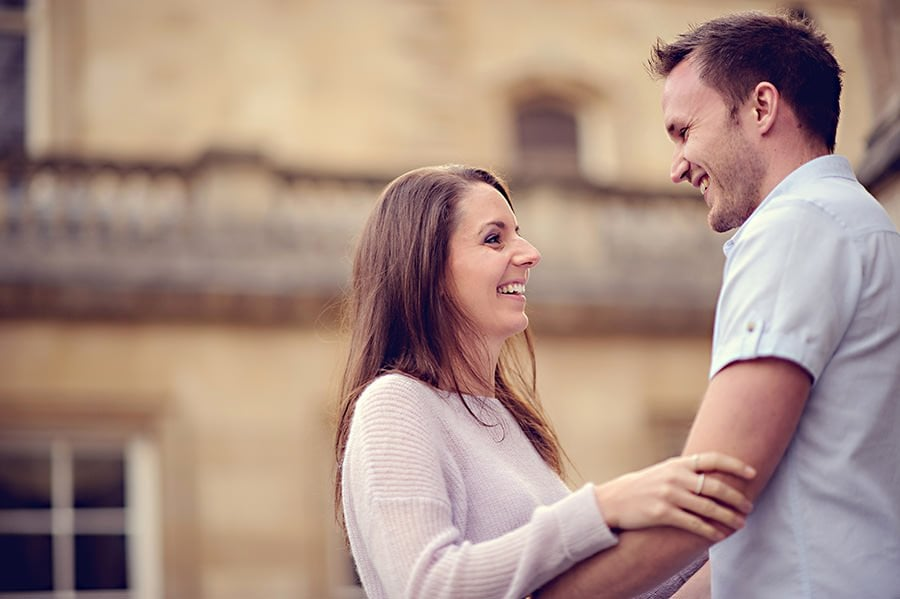 Evening Engagement Photo Shoot in the City of Bath 27