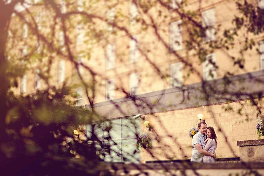 Evening Engagement Photo Shoot in the City of Bath 31