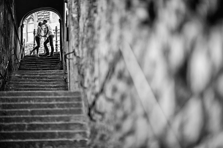 Evening Engagement Photo Shoot in the City of Bath 35
