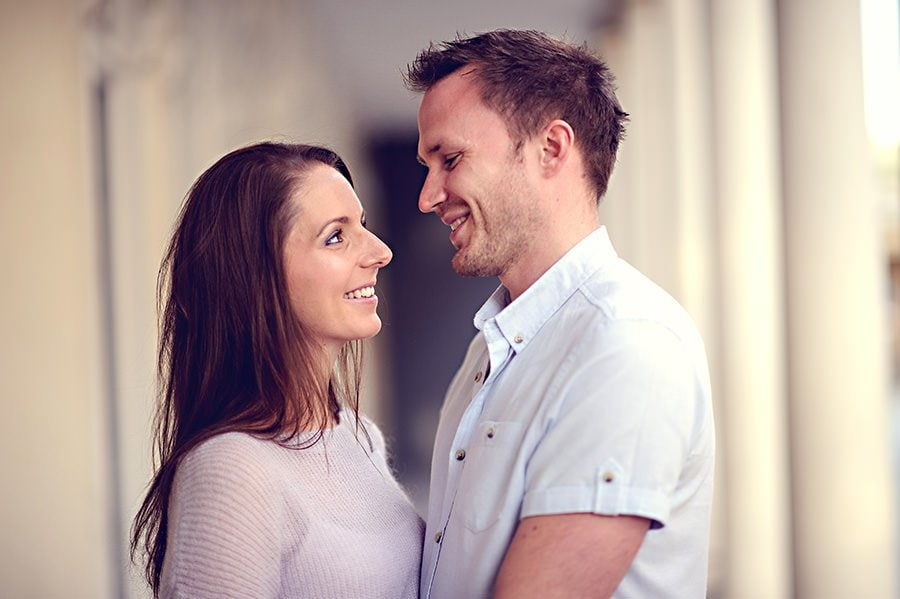 Evening Engagement Photo Shoot in the City of Bath 3