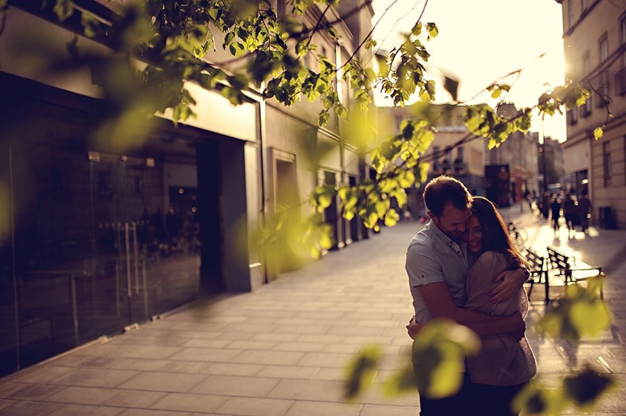 Evening Engagement Photo Shoot in the City of Bath 40