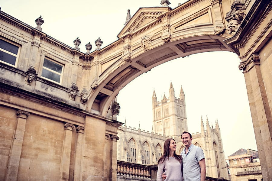 Evening Engagement Photo Shoot in the City of Bath 45