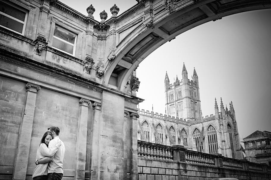 Evening Engagement Photo Shoot in the City of Bath 47