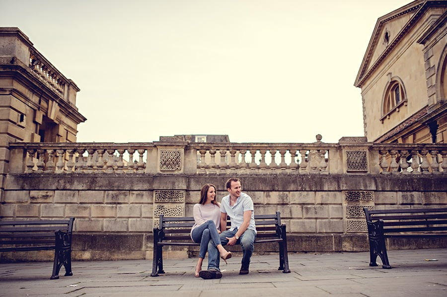 Evening Engagement Photo Shoot in the City of Bath 48