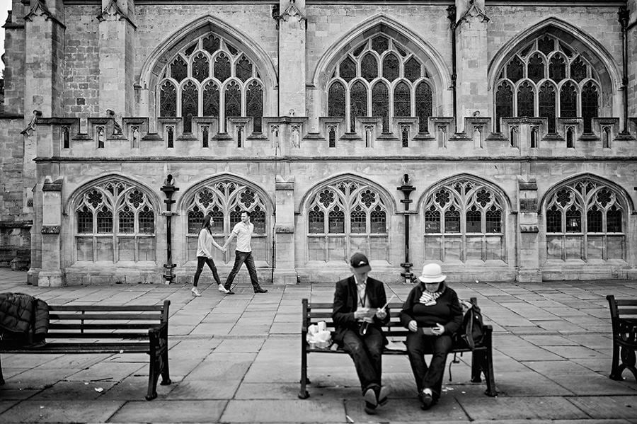 Evening Engagement Photo Shoot in the City of Bath 49