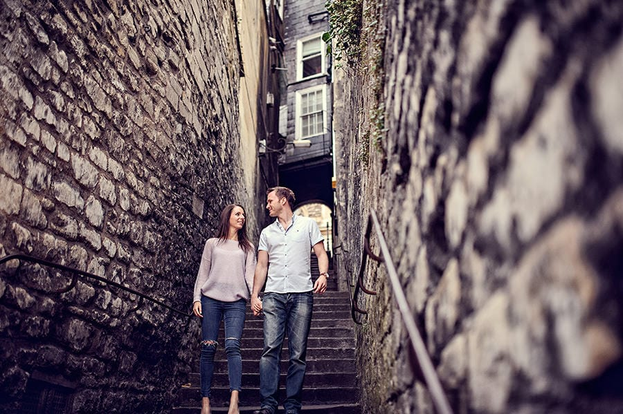 Evening Engagement Photo Shoot in the City of Bath 54