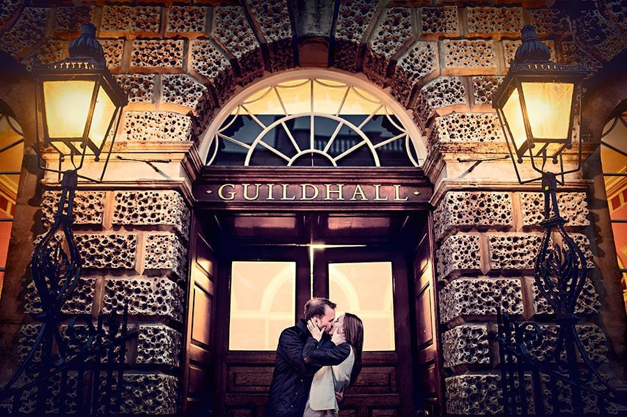Evening Engagement Photo Shoot in the City of Bath 56