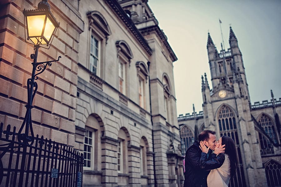 Evening Engagement Photo Shoot in the City of Bath 57