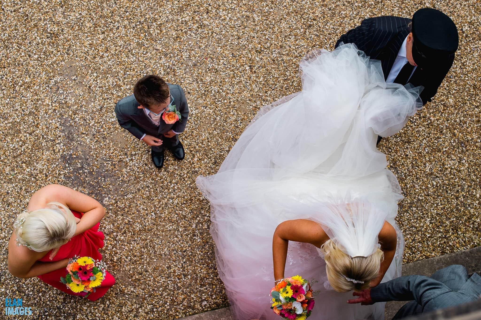 Summer Wedding at Coombe Lodge Blagdon 4