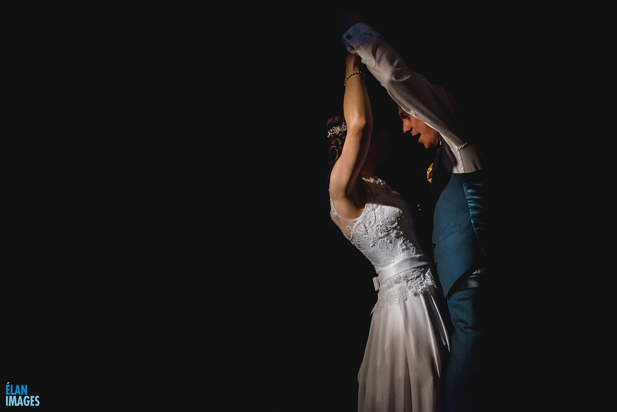 First dance photograph froma wedding at Coombe Lodge in Blagdon