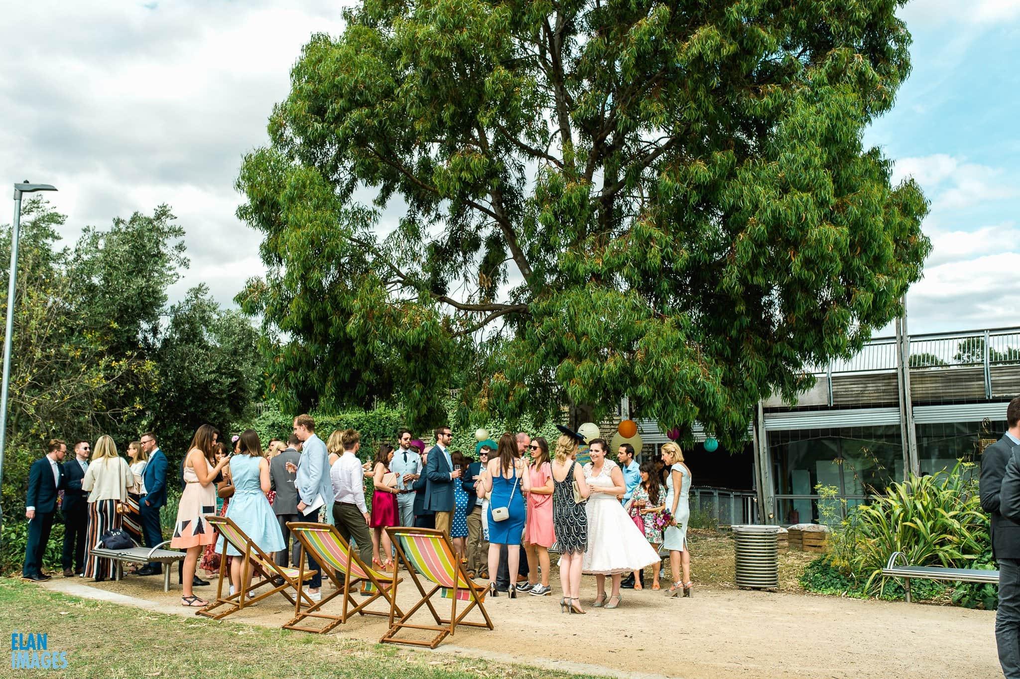 Mile End Art Pavilion Wedding, London 49