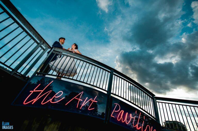 Mile End Art Pavilion Wedding, London