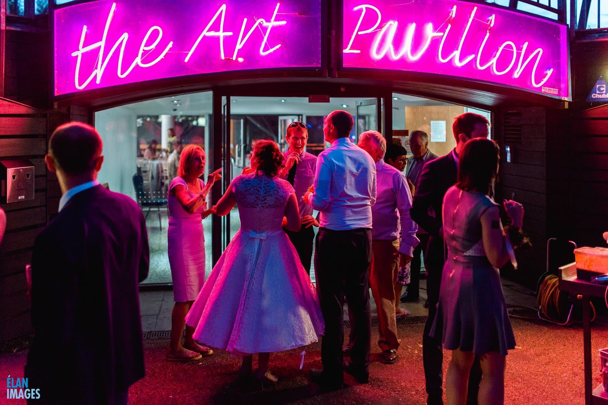 Mile End Art Pavilion Wedding, London 212