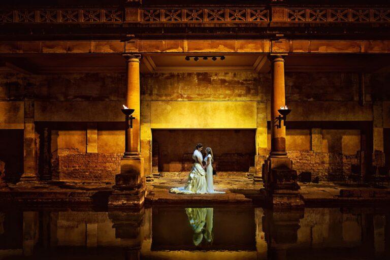Wedding at the Roman Baths (Pump Rooms Wedding)