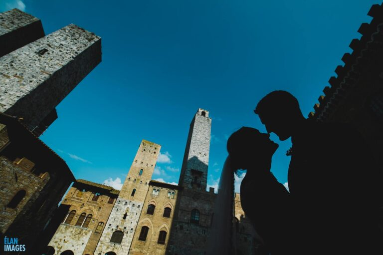San Gimignano Wedding in Italy