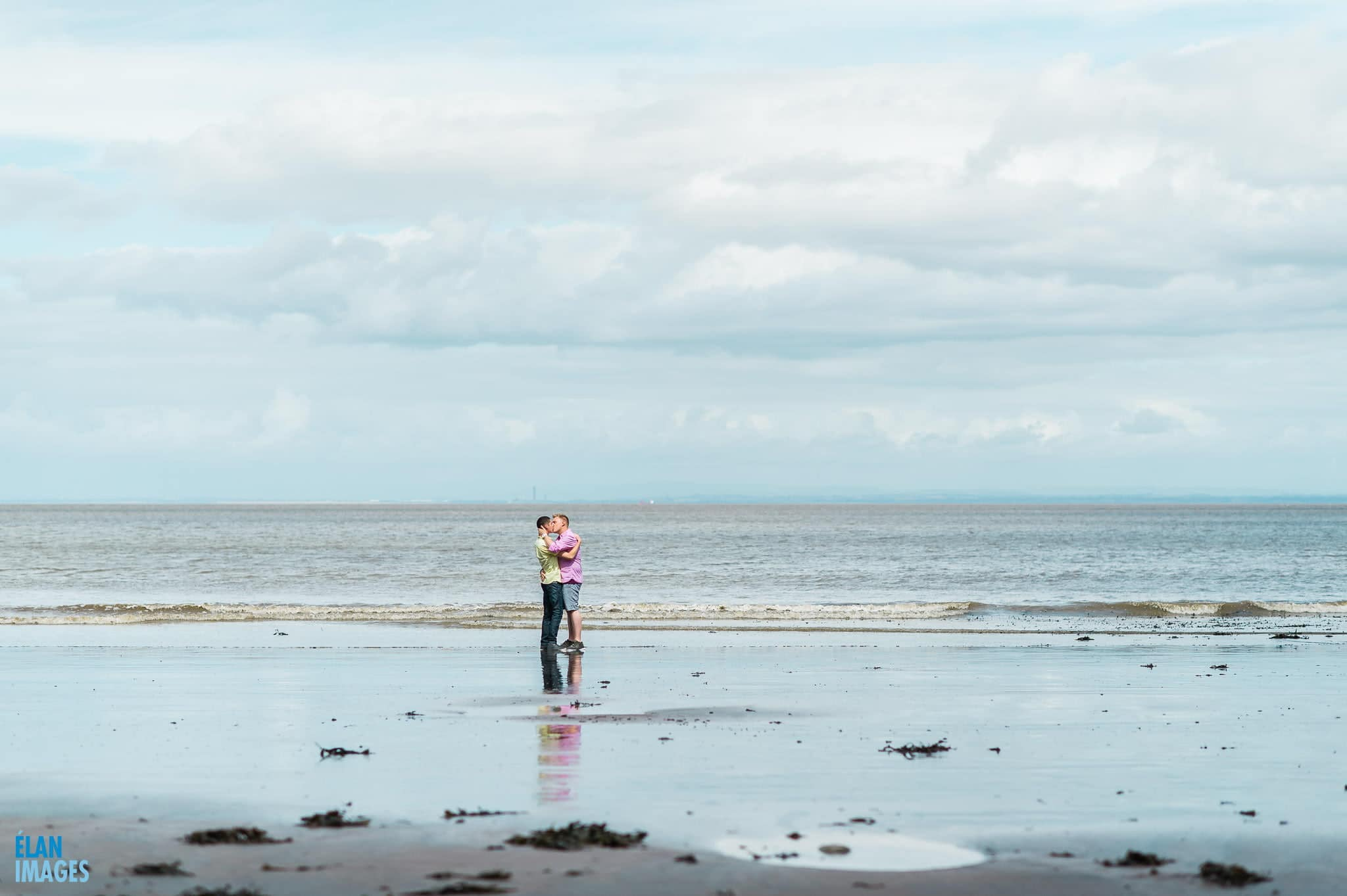 Engagement photo shoot at St Audrie's Bay, Devon 13
