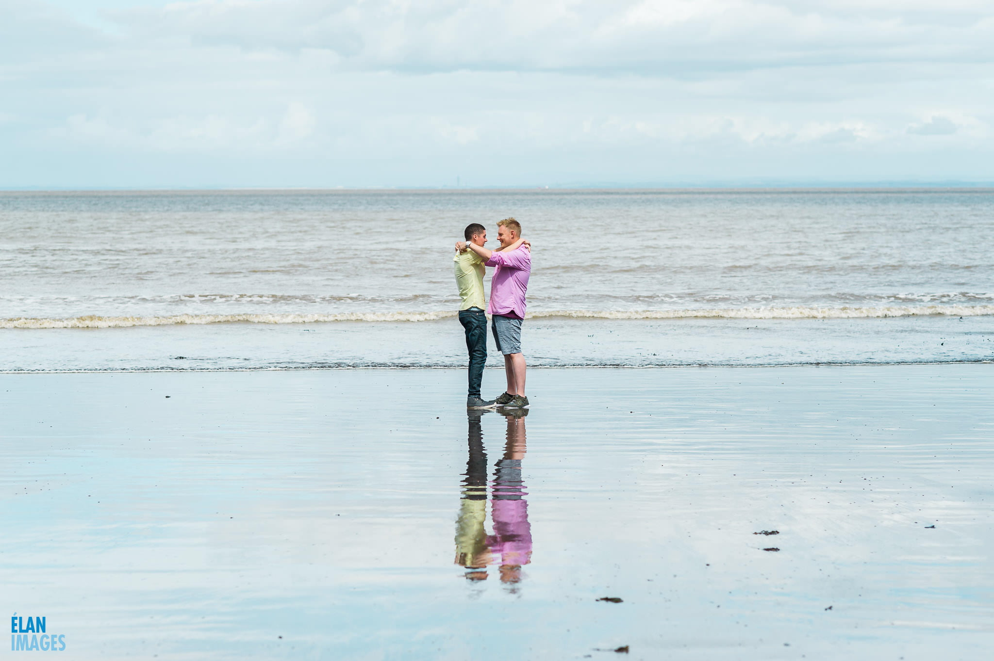 Engagement photo shoot at St Audrie's Bay, Devon 14
