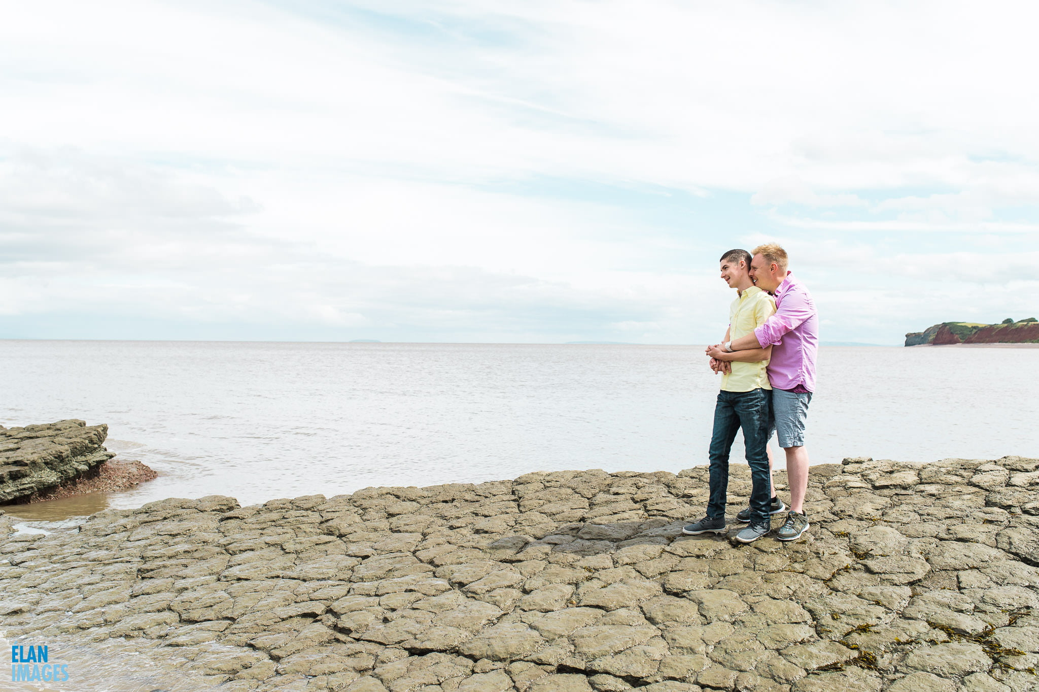 Engagement photo shoot at St Audrie's Bay, Devon 25