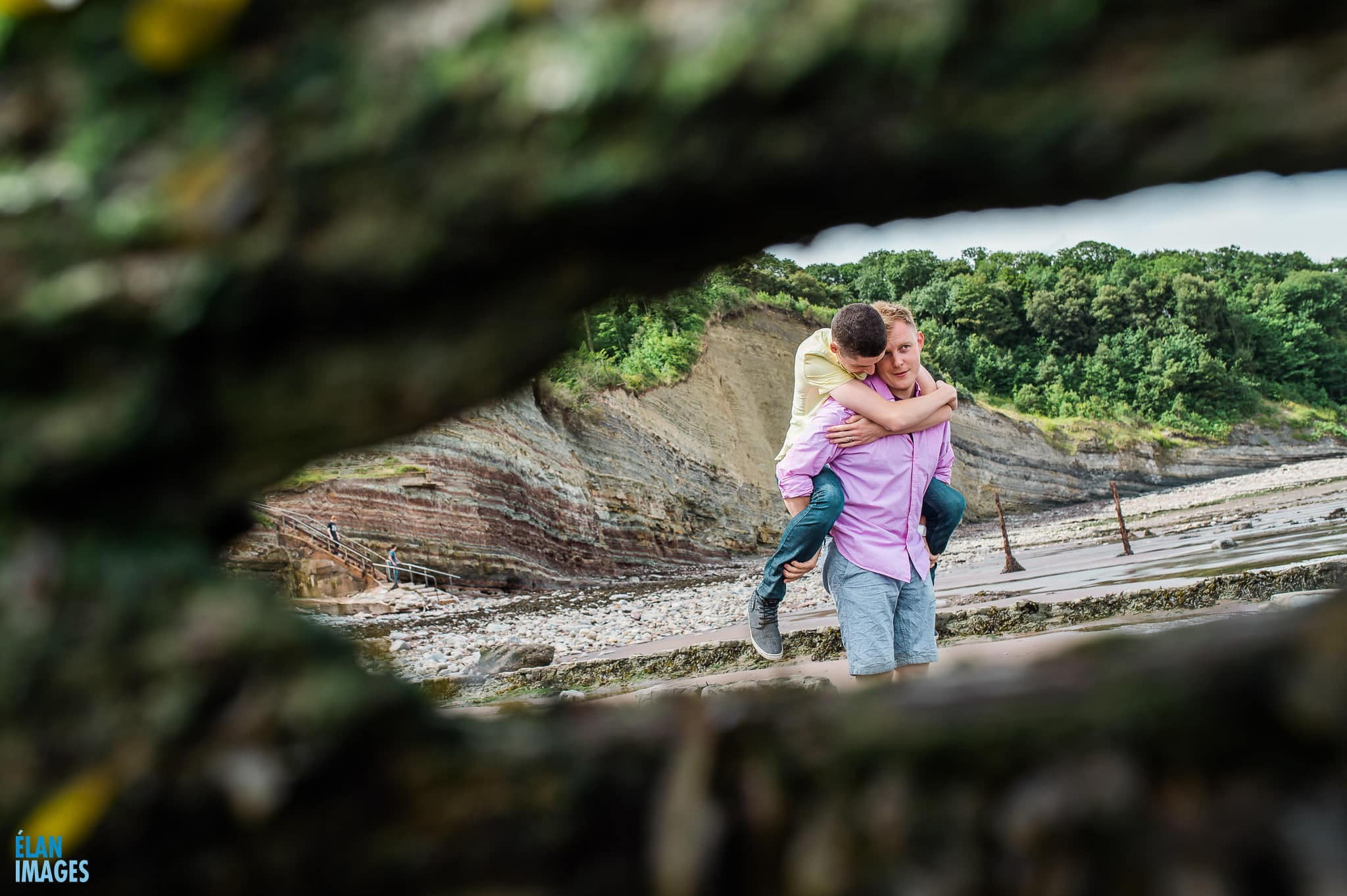 Engagement photo shoot at St Audrie's Bay, Devon 34