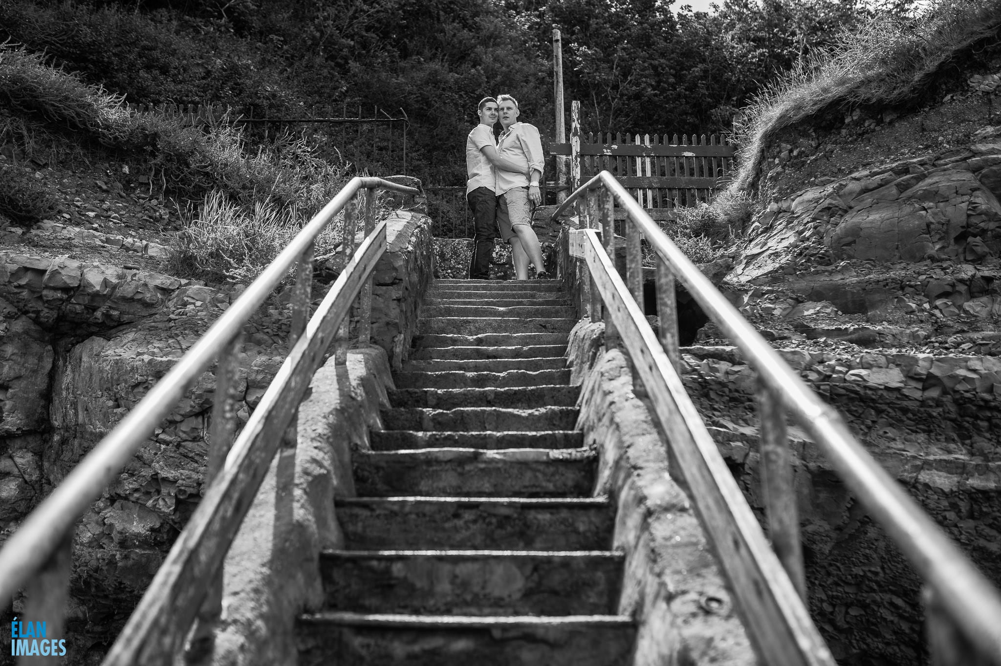 Engagement photo shoot at St Audrie's Bay, Devon 38