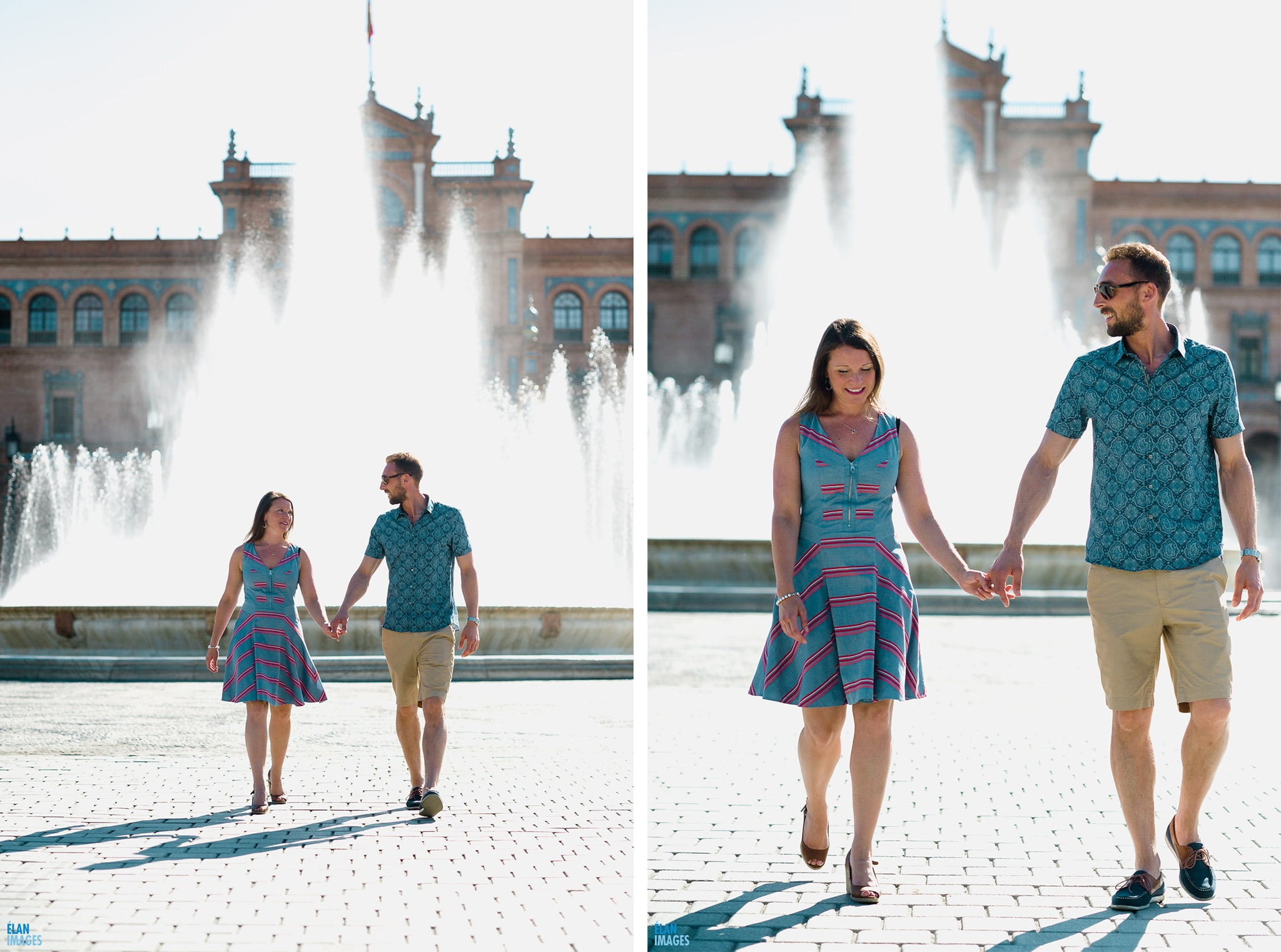 Plaza de España, Seville – Engagement Photo Shoot 2