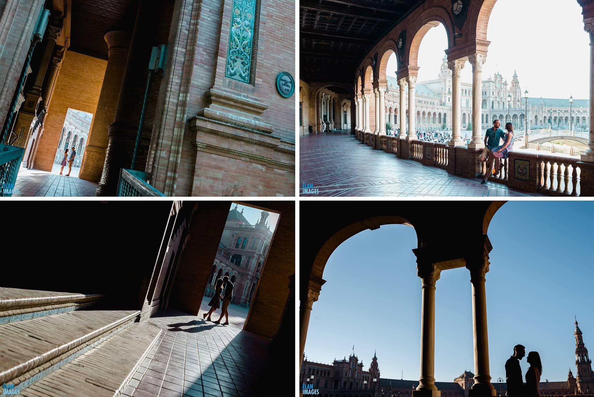 Plaza de España, Seville – Engagement Photo Shoot 5