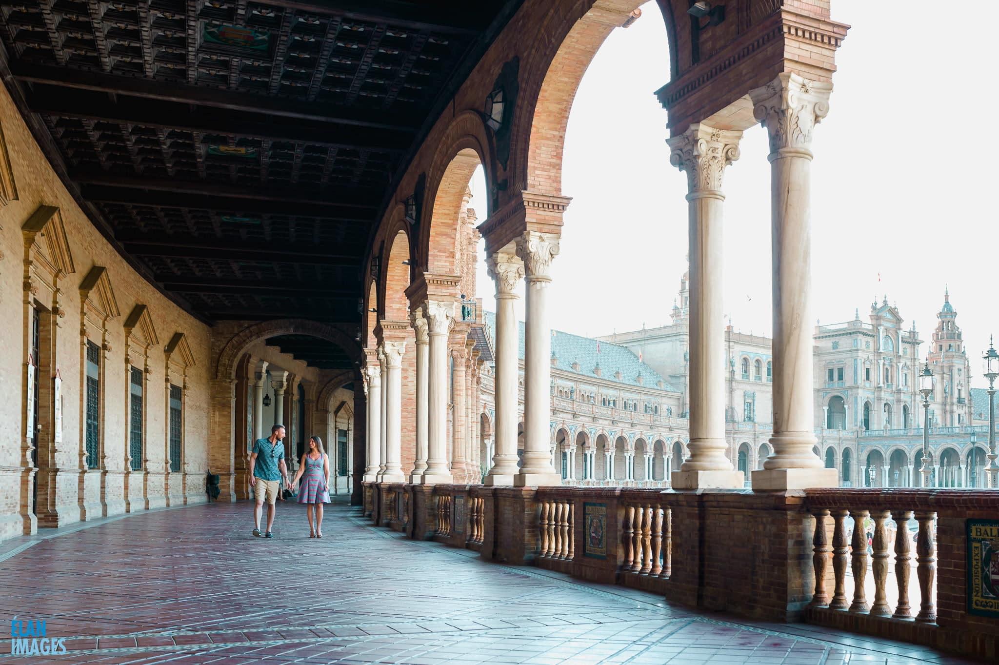 Plaza de España, Seville – Engagement Photo Shoot 6