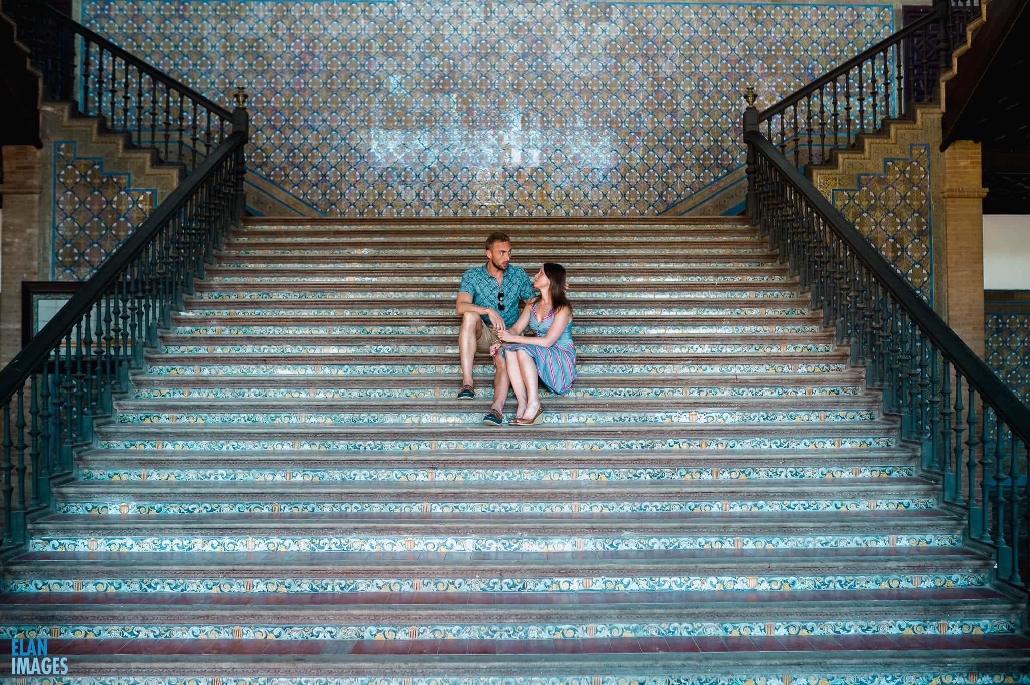 Plaza de España, Seville – Engagement Photo Shoot 12