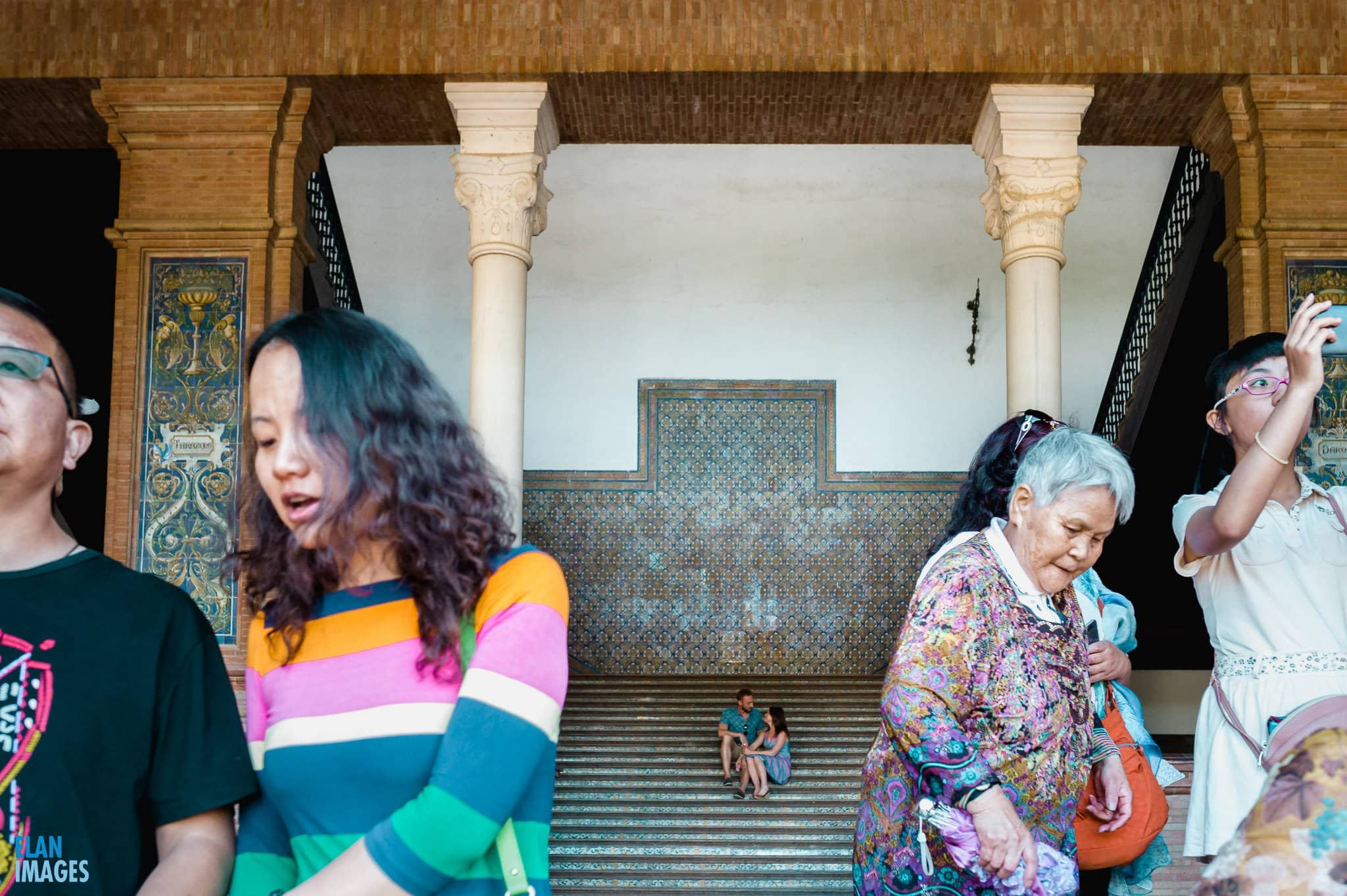 Plaza de España, Seville – Engagement Photo Shoot 14