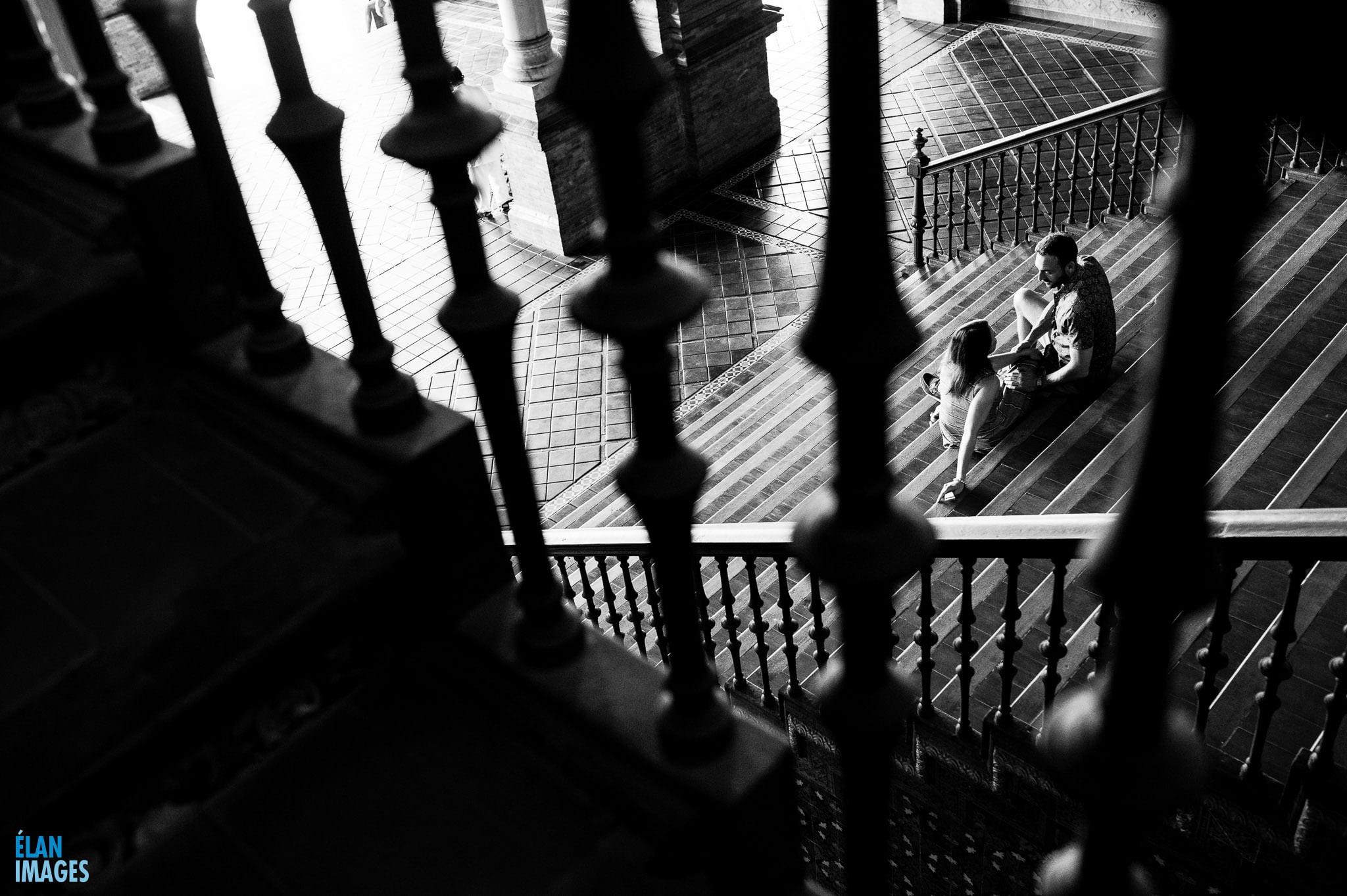 Plaza de España, Seville – Engagement Photo Shoot 17