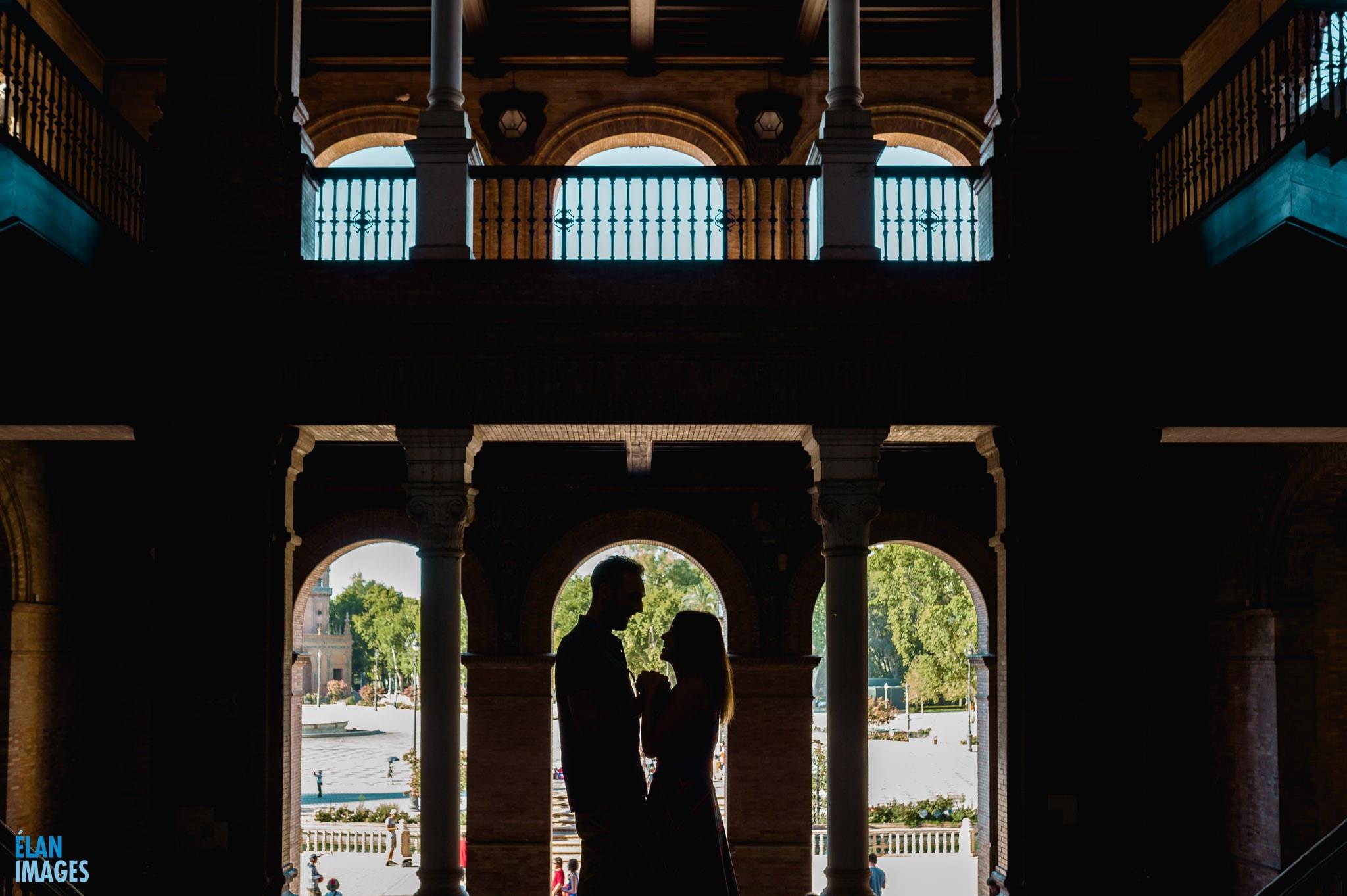 Plaza de España, Seville – Engagement Photo Shoot 18