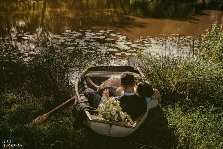 Iscoyd Park Wedding Photography by the Lake | Iscoyd Wedding