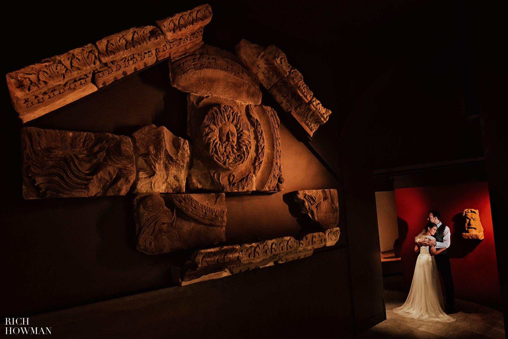 Roman Baths Sunset Wedding Ceremony | Wedding Photographer in Bath 1