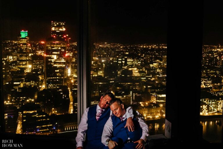 Wedding at the Shard