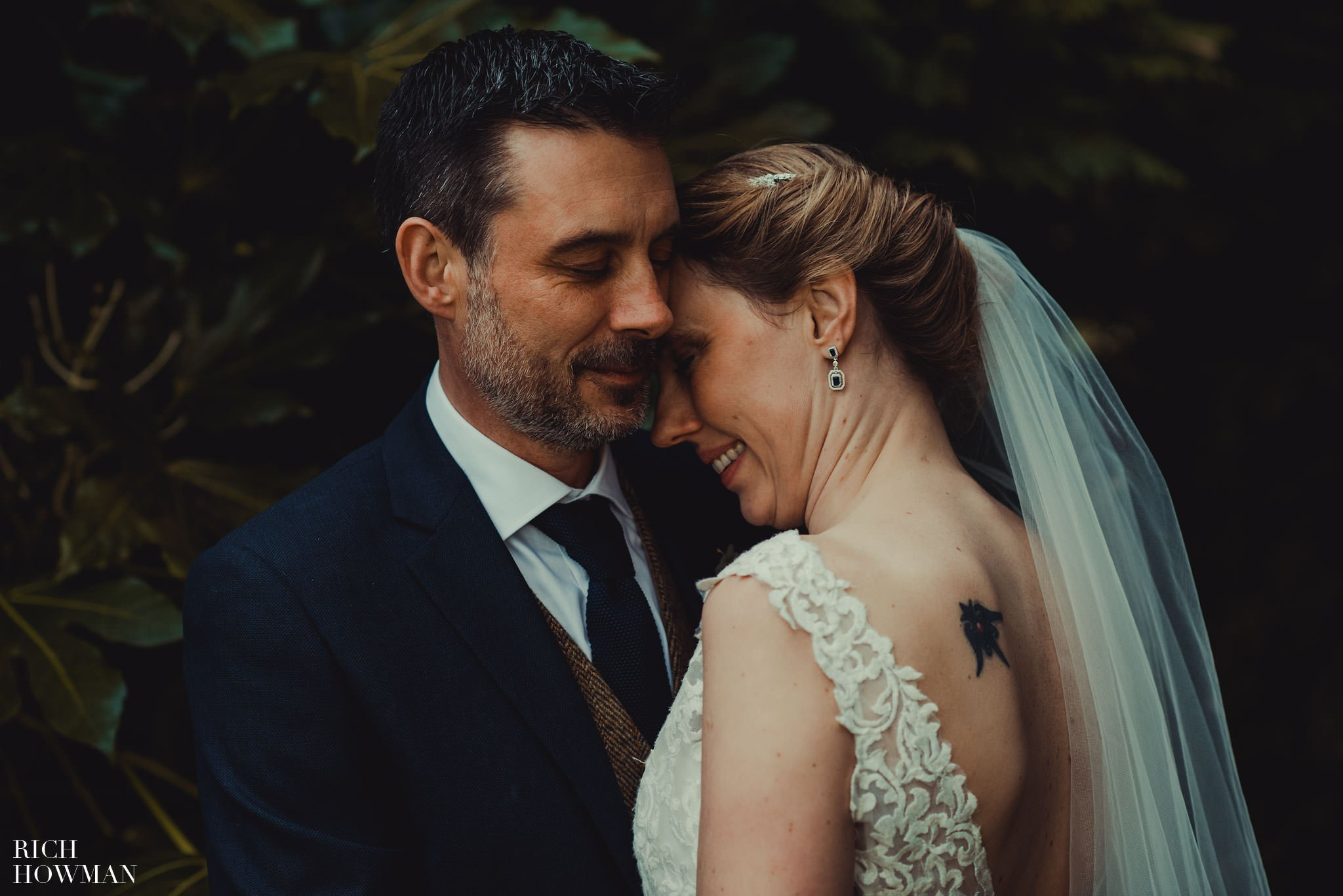 Wedding at Pennard House photographed by Rich Howman Wedding Photographer at Pennard House