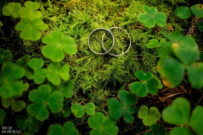 Woodland Engagement Photo Shoot