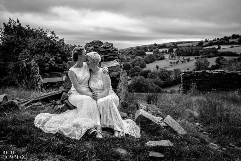Sugar Loaf Barn Wedding in Wales