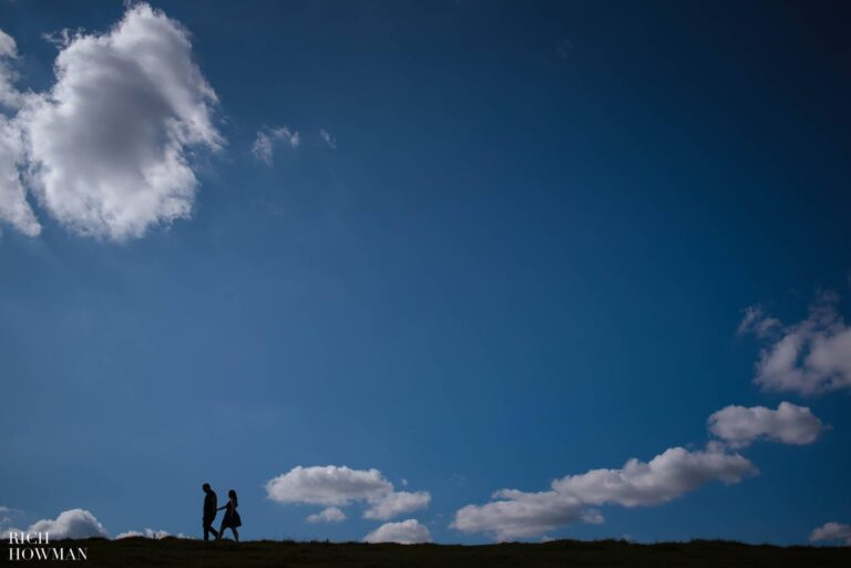 Engagement Photo Shoot Cley Hill Warminster