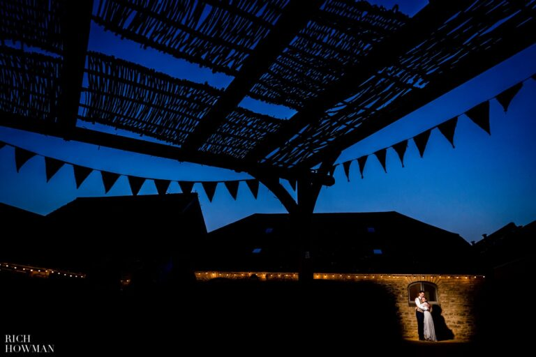 Blue skies for Amy & Adrian's Summer Wedding at the Folly Farm Centre