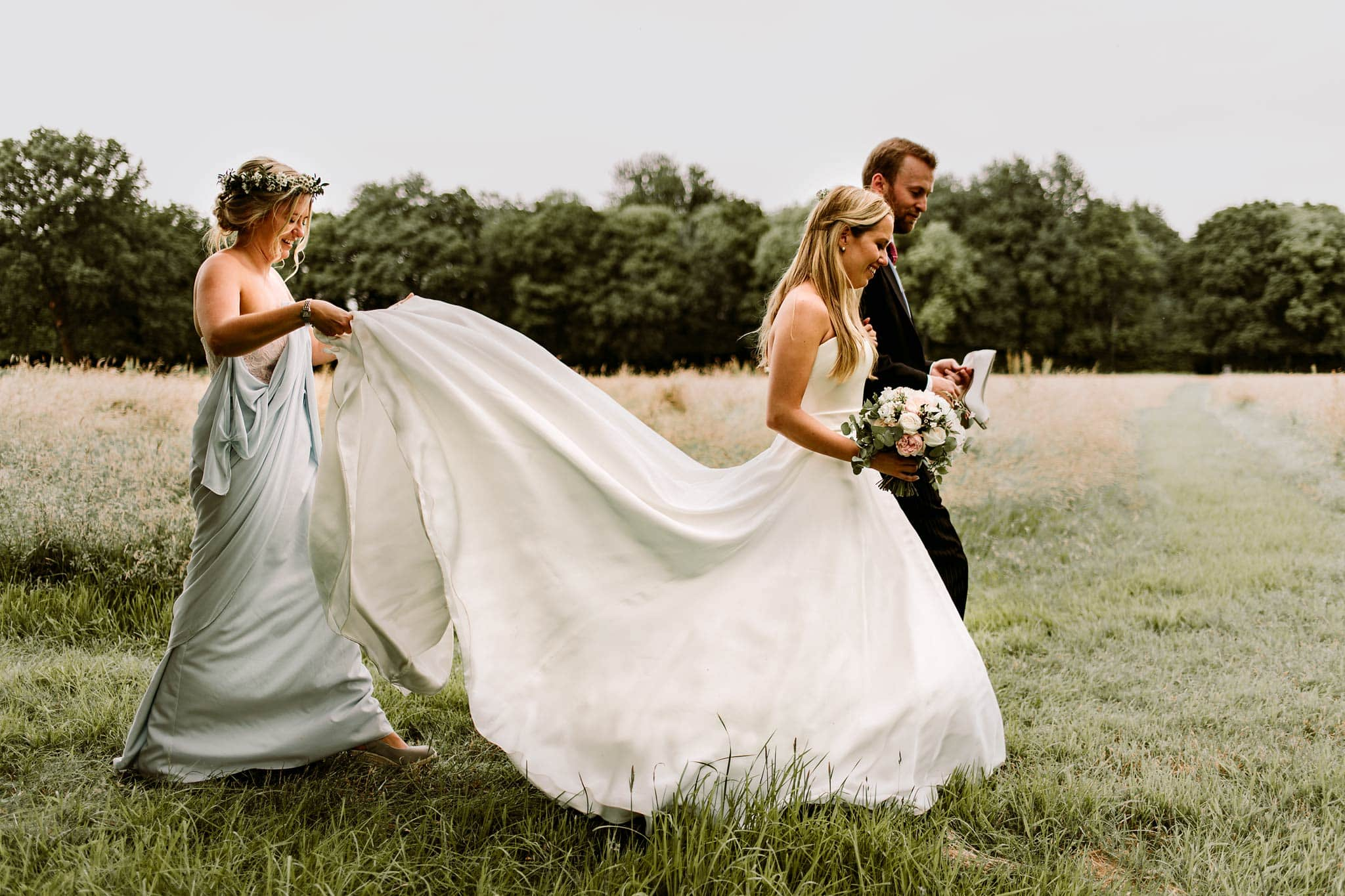 Amber de Savary Rural Summer Wedding