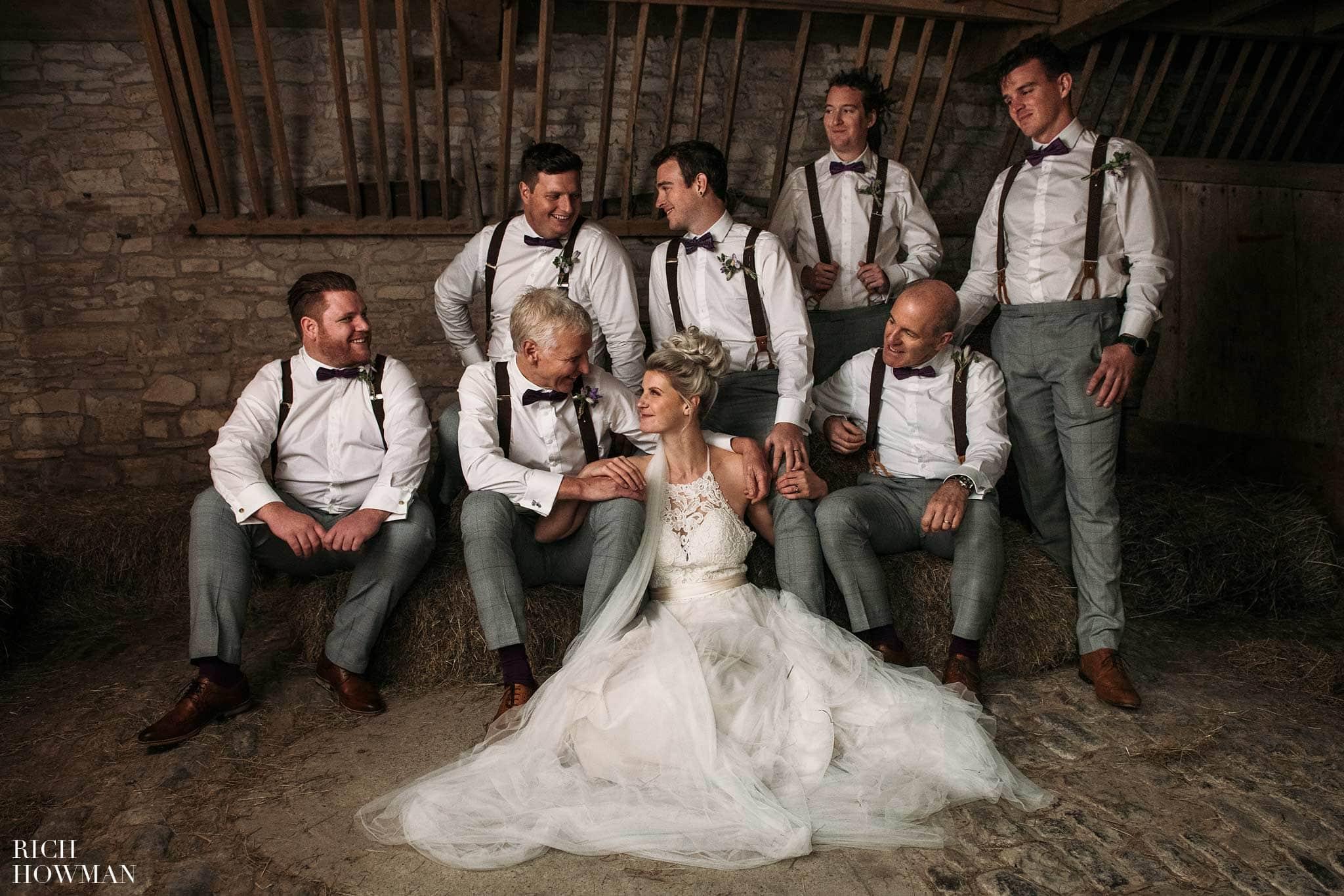 Autumn Wedding at the Folly Farm Centre 1